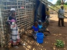 Apoio da Oikos aos deslocados em Moçambique reforçado pelo Governo Português