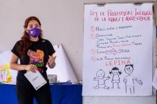 A Escola de Jovens Defensores inicia com a capacitação em Direitos Humanos para representantes de 19 organizações de jovens