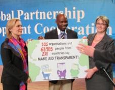 Campanha Global por maior Transparência da Ajuda