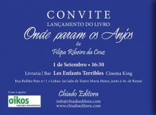 "Oikos supports the launch of the book ""Onde param os Anjos"""