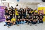 Jovens organizados defendendo os seus direitos
