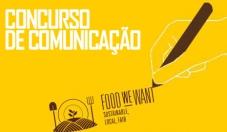 """Concurso de Comunicação """"Food We Want"""""""