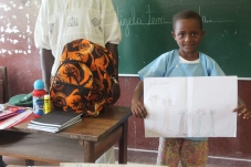 Concurso e sensibilização no ensino básico em São Tomé e Príncipe para protecção da fauna e flora no país